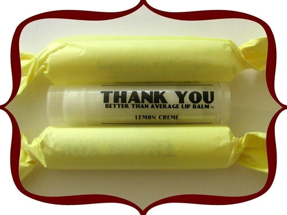 Lemon Creme - Better Than Average Lip Balm - 3 pack