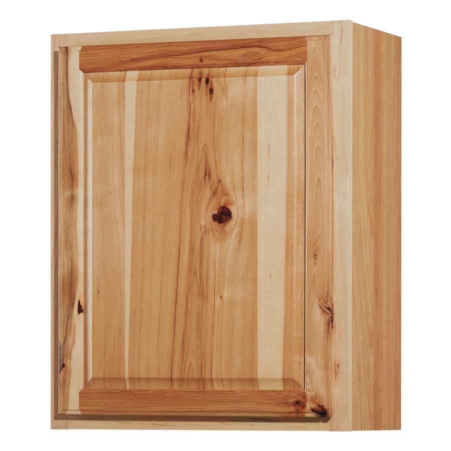 Diamond Now Denver 24 In W X 30 In H X 12 In D Natural Door Wall Stock Cabinet In The Stock Kitchen Cabinets Department At Lowes Com