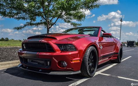 ford mustang shelby gt super snake convertible