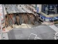 Japanese Engineers Fix Fukuoka City Sinkhole (20m-Wide) In 2 Days