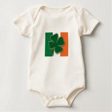 Shamrock Flag Baby T-Shirt shirt
