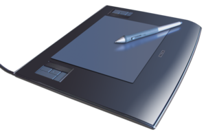 Deutsch: Wacom Pen Tablet mit Stift, Intuos 3 ...
