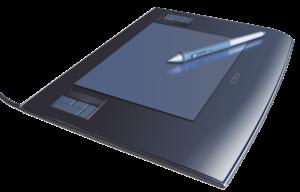 Deutsch: Wacom Pen Tablet mit Stift, Intuos 3 ...