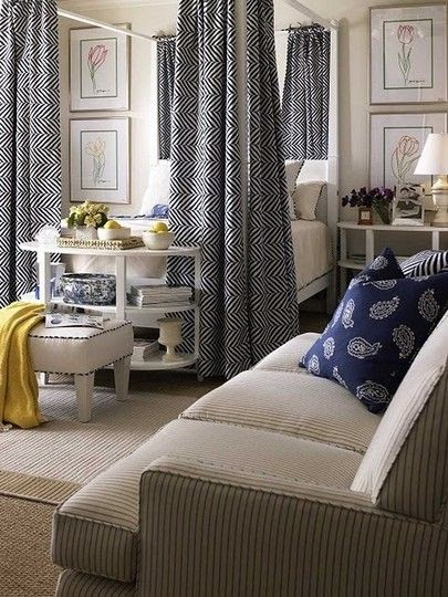 Apartment design collections 309 love those bed drapes for Aita studio home decoration