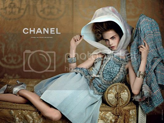 Cara Delevingne for Chanel Resort 2013 Ad Campaign