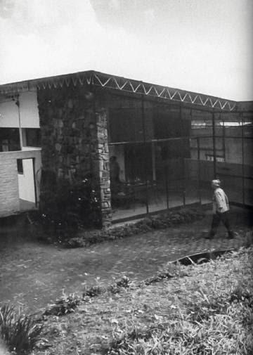 Parte da casa em que Bishop e Lotta de Macedo Soares viveram juntas.