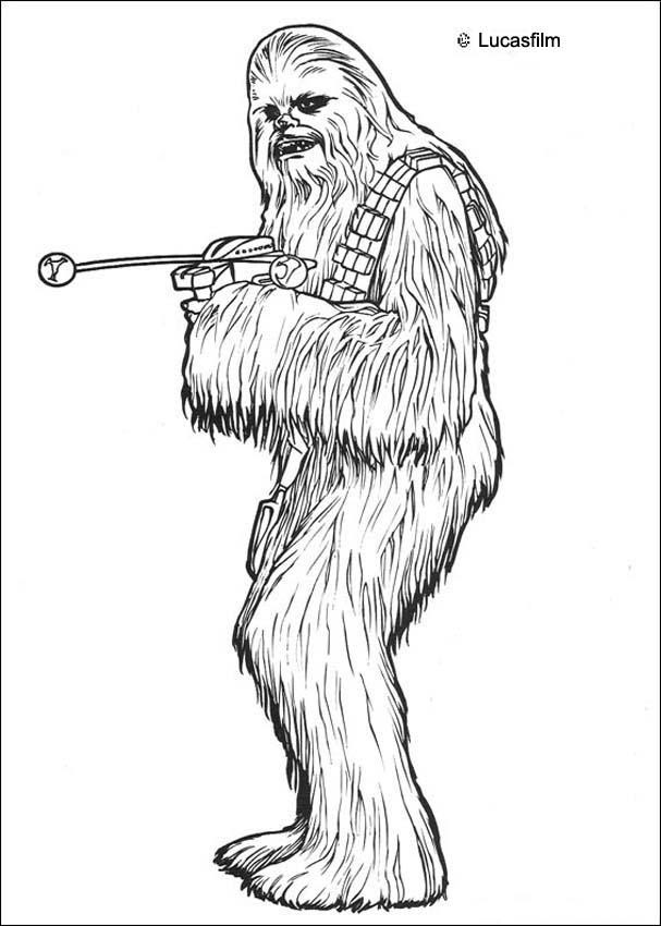 Coloriages Coloriage Star Wars Du Commandant Clone Frhellokidscom
