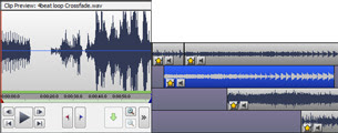VideoPad mpeg editor and movie maker allows you to mix a soundtrack for your movie