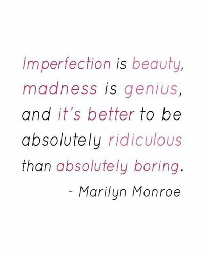 Thank You Marilyn Monroe For Making Me Feel Better About Mys