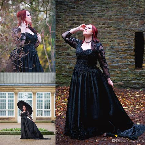 Plus size gothic wedding dress   PlusLook.eu Collection