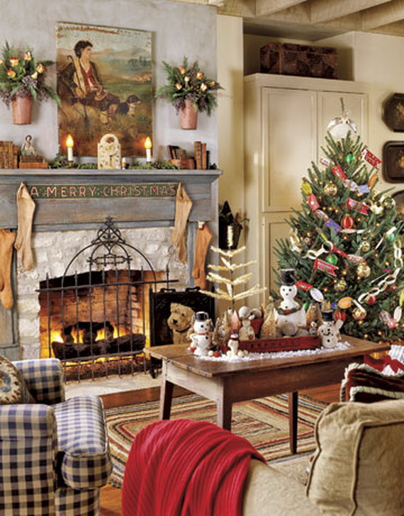 30 Country Christmas Decorations Ideas You Love To Try ...