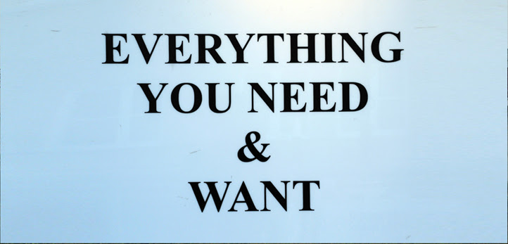everything you need and want web