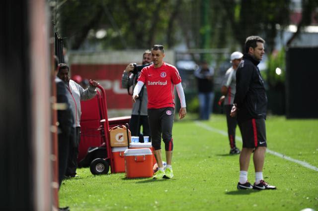 """""""Argel tem personalidade parecida com a minha"""", diz D'Alessandro Félix Zucco/Agência RBS"""