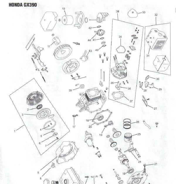 Honda Gx390 Wiring Schematic
