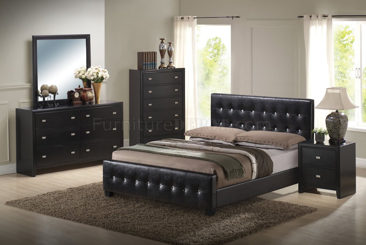 Black Bed Sets Modern Diy Art Designs