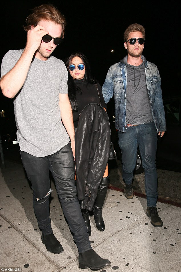Close: The pair attended the SkySpace Launch Party in Los Angeles last week, and were said to be very affectionate with each other and have since been seen at celebrity hotspots The Roxy and The Nice Guy