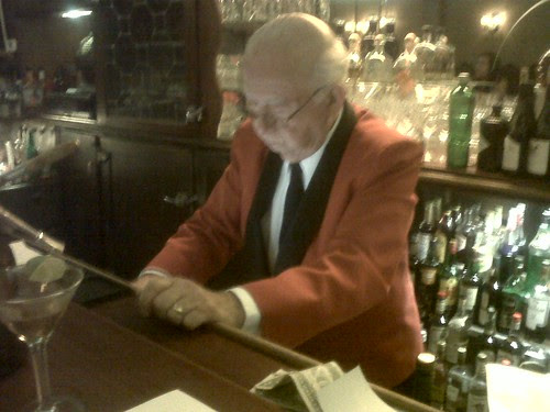 Manny the bartender