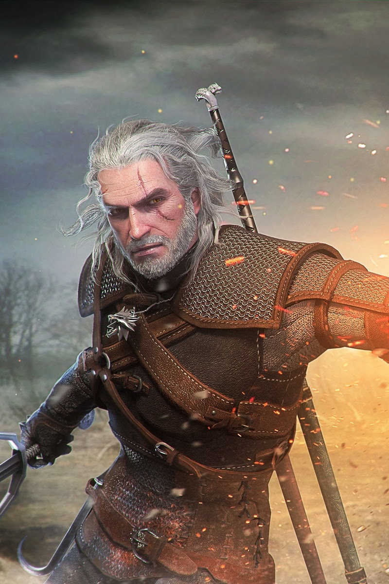 Witcher 3 Geralt Wallpaper Posted By Ethan Simpson