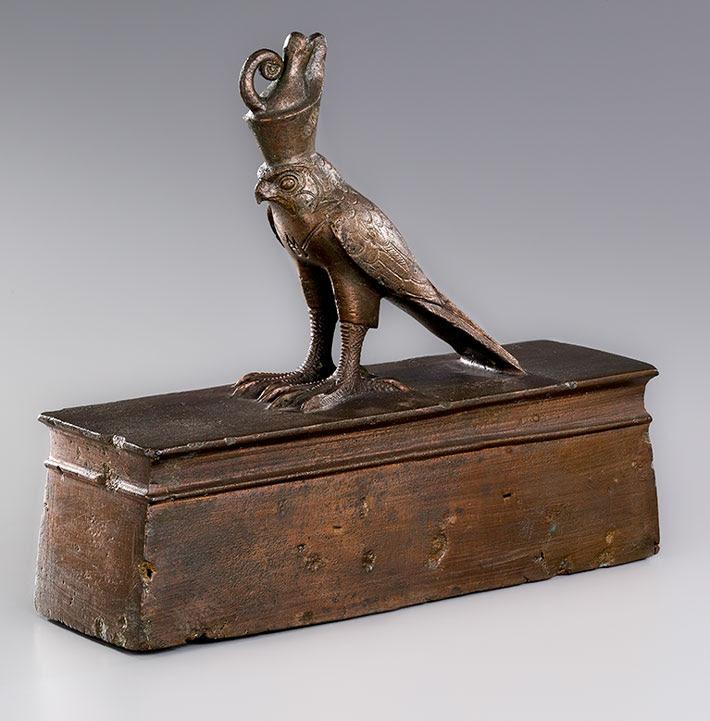 Egypt Hawk Mummy Coffin