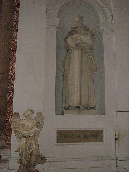Fil: Castro Pretorio - Santa Maria degli Angeli - San Bruno e angelo 00870.JPG