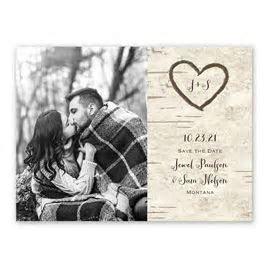 Rustic Save the Dates   Invitations By Dawn