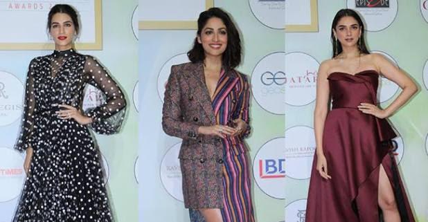 GeoSpa awards 2019; From ageless beauty Rekha to Padmaavat actress Aditi Rao Hydari's, celebs grace the red carpet