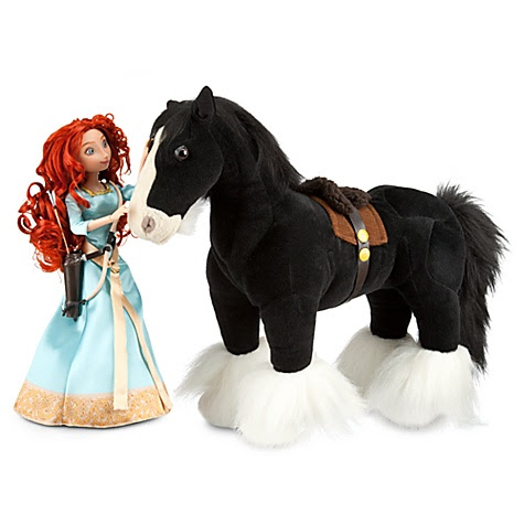 Brave Angus and Merida Doll Set -- 2-Pc.