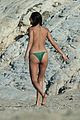 shay mitchell goes topless at the beach in greece 01