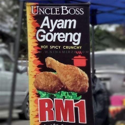pergghhh ayam goreng rm uncle boss sedap