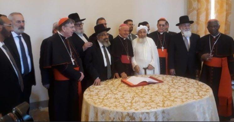 Déclaration sur la fin de vie signée par les religions monothéistes