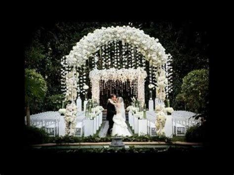 Best Garden Wedding Arch Decorations Pictures   YouTube