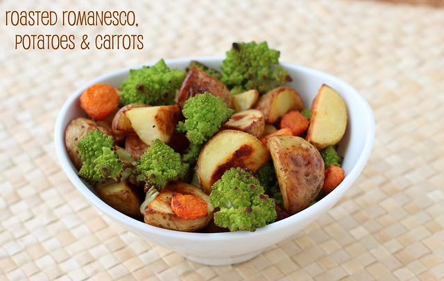 Romanesco Broccoli & Roasted Vegetables