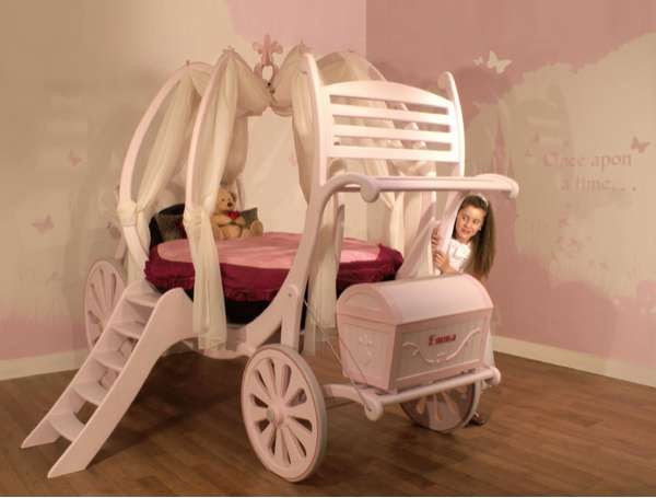 Bespoke Princess Beds - Treasured Dreams Carriage Beds (