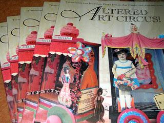 Altered Art Circus: Books!