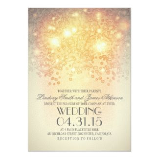 glitter string lights elegant vintage wedding