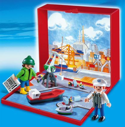 Micro Playmobil Harbour