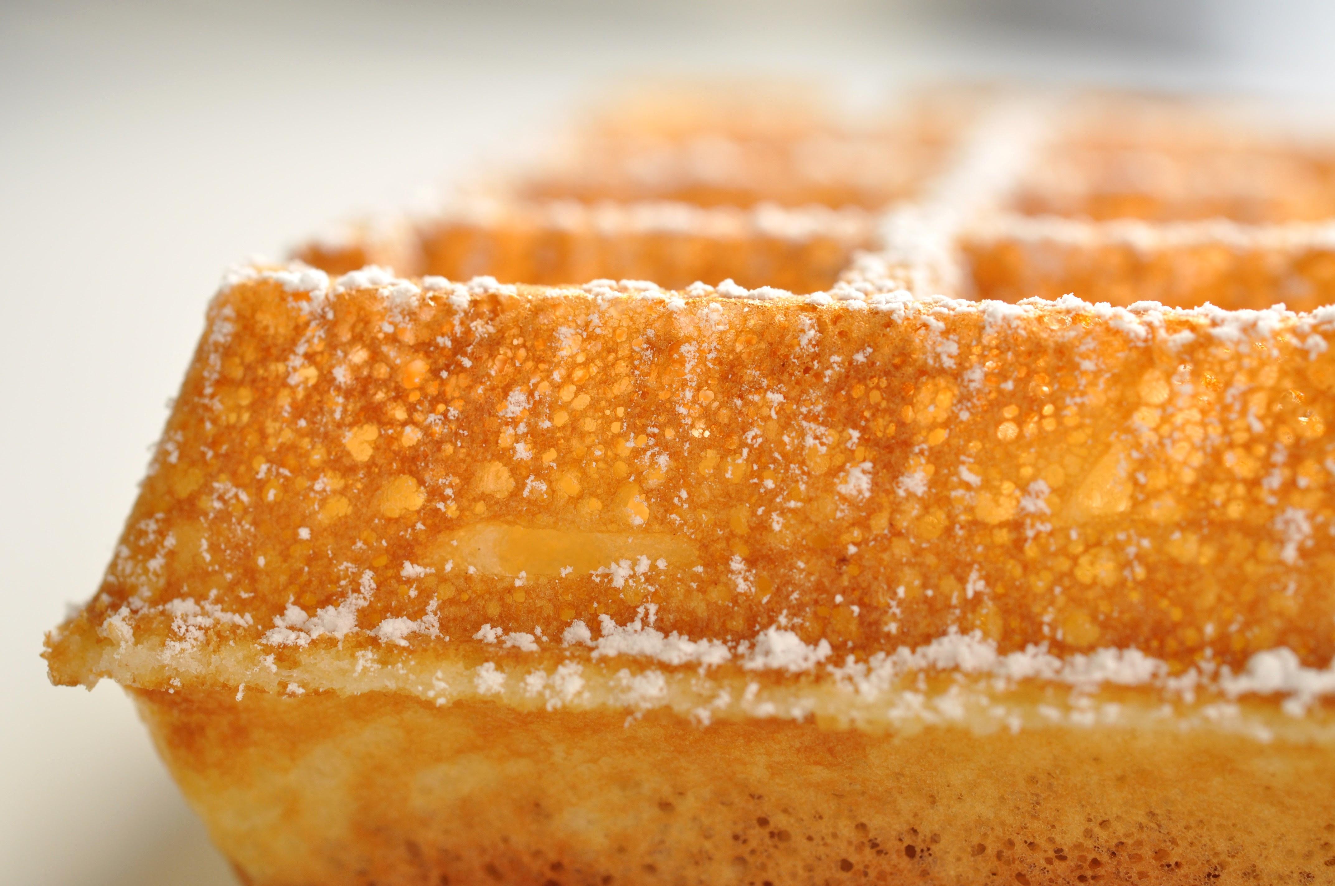 Belgian Waffle Recipe | Pastry Chef - Author Eddy Van Damme