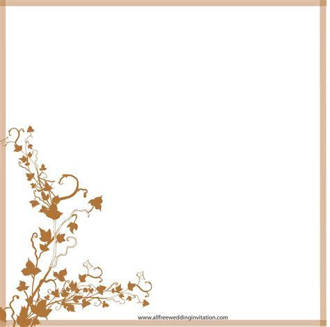 29 Images of Wedding Border Template Free   leseriail.com