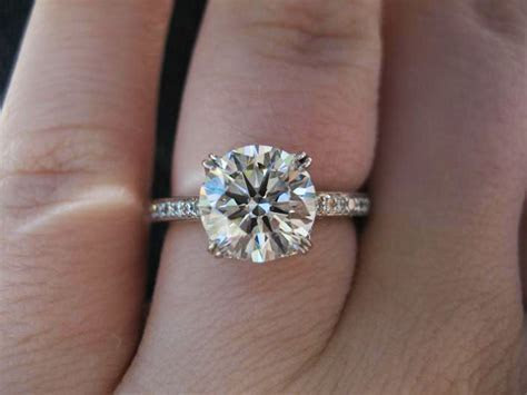 1000  images about round cut diamond rings on Pinterest