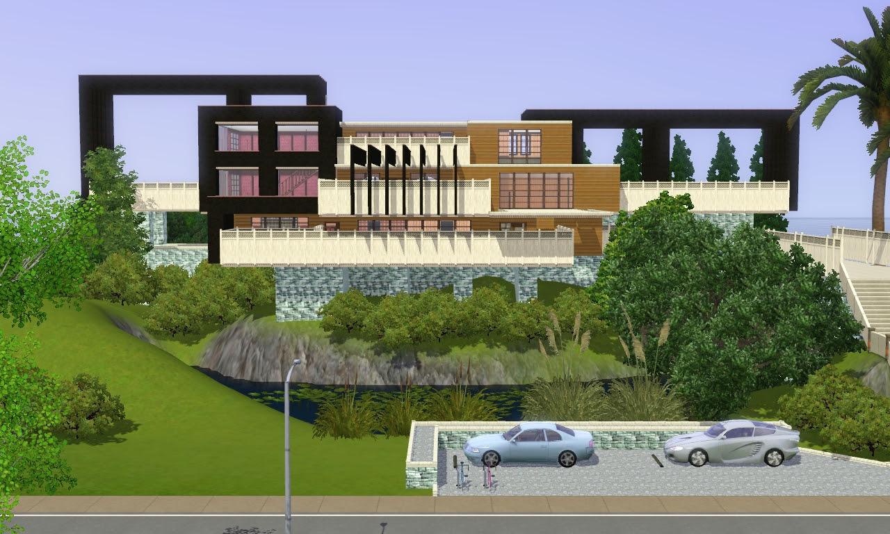 The Sims 3 Best House Design | Modern Design