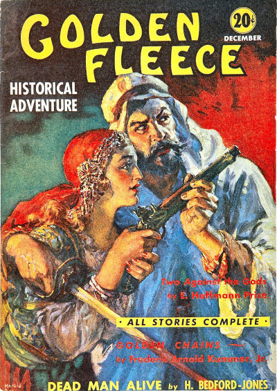 Cover for Golden Fleece, December 1938 jointly credited to Jay Jackson and Harold S. DeLay