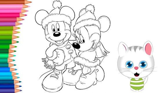 En Iyi Miki Ve Minnie Mouse Boyama Sayfasy Hedef Ust Ev Boyama Sayfasi