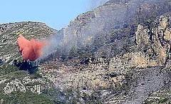 Foc a La Safor (març 2006)