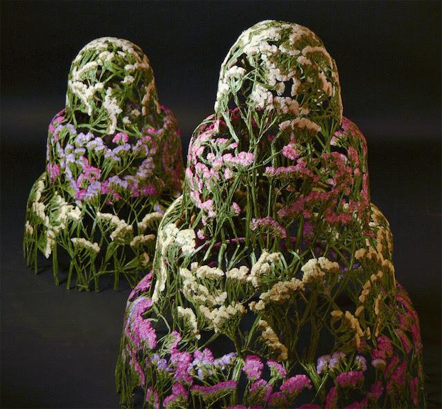 Delicate sculture di fiori di ignacio canales aracil for Sculture di fiori