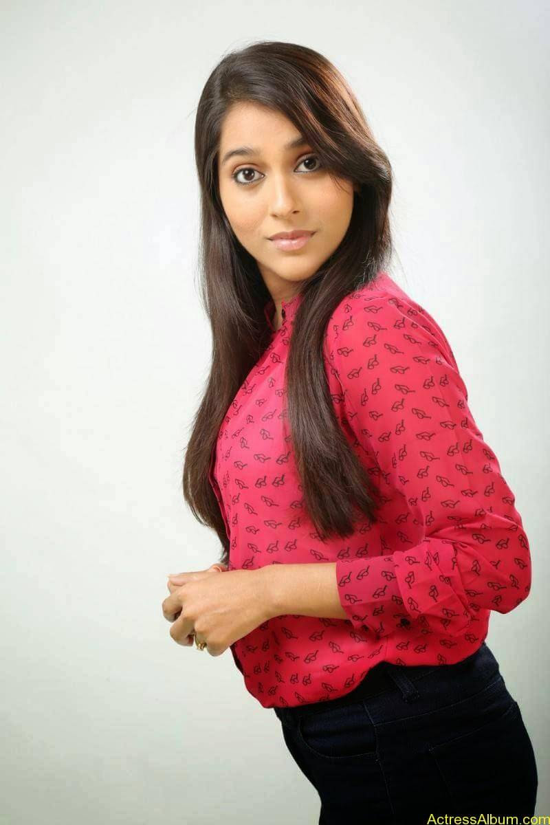 Rashmi Gautam Hot pink dress 4