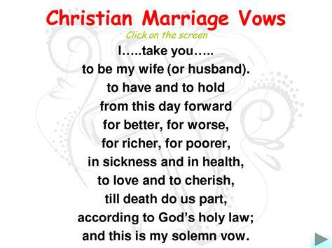 Marriage Vows   Wedding Flair
