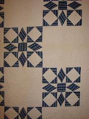 Nine Patch Quilt - 1848 Detail
