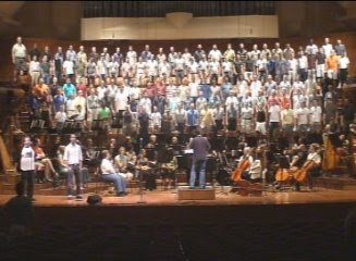 San Francisco Gay Men's Chorus at rehearsal