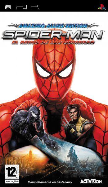 Carátula de Spider-Man: El Reino de las Sombras