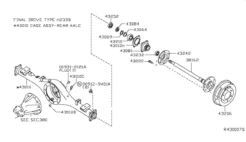 2004 Nissan Frontier Parts Diagram
